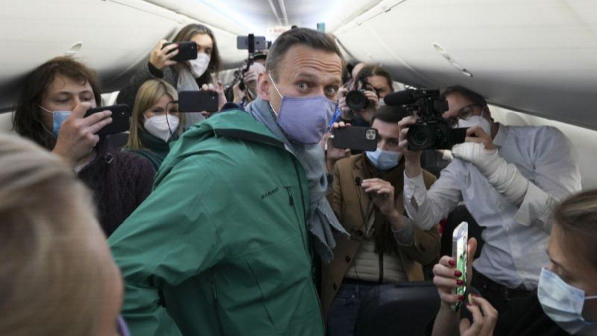 Rusya'da Alexei Navalny'nin gözaltına alınmasıyla sokaklar karıştı