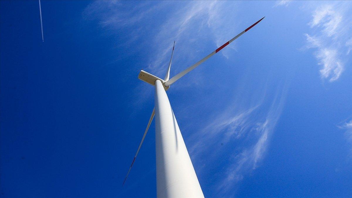 Rüzgardan elektrik üretimi yükseldi