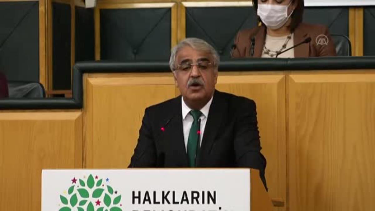 Sancar, HDP TBMM Grup Toplantısı'nda konuştu (3)