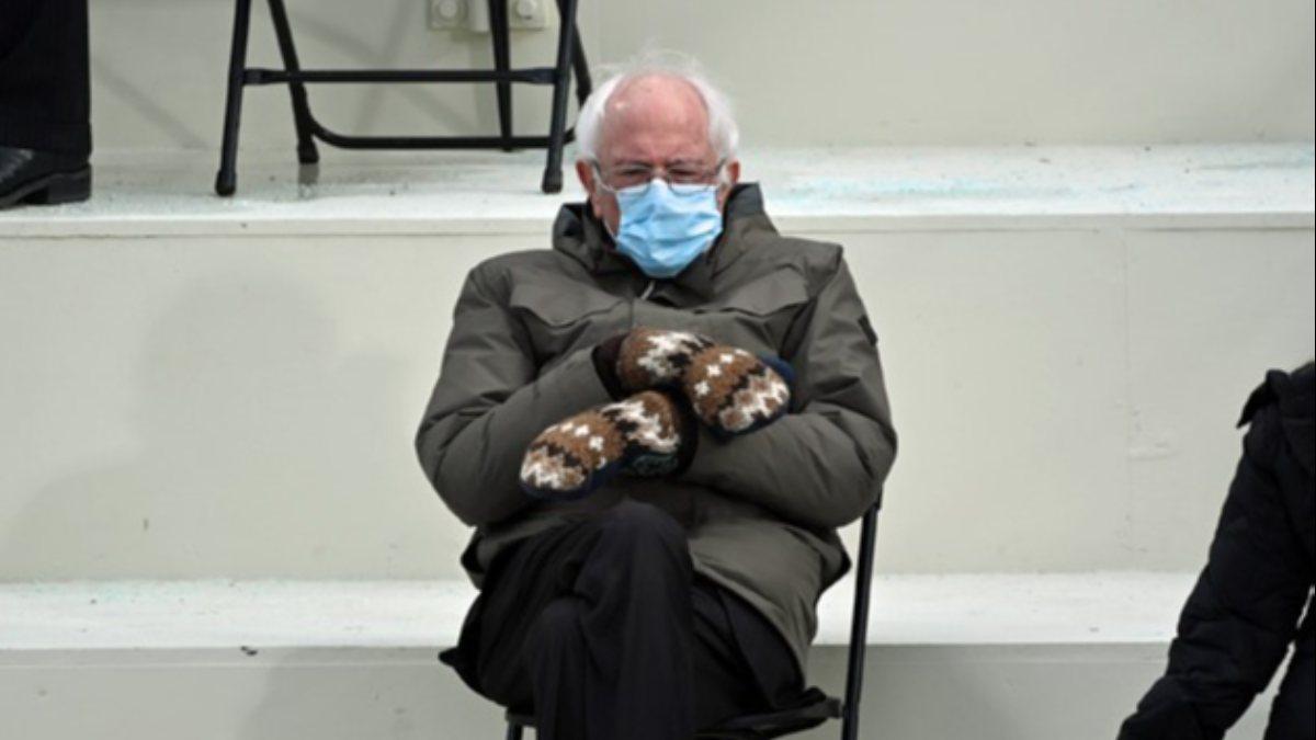 Sanders'ın eldivenleri seri üretilecek