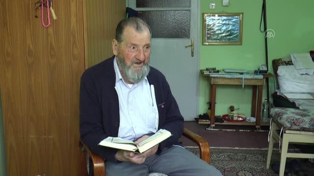Bosnalı Himzo dede ramazan sevincini buruk yaşıyor