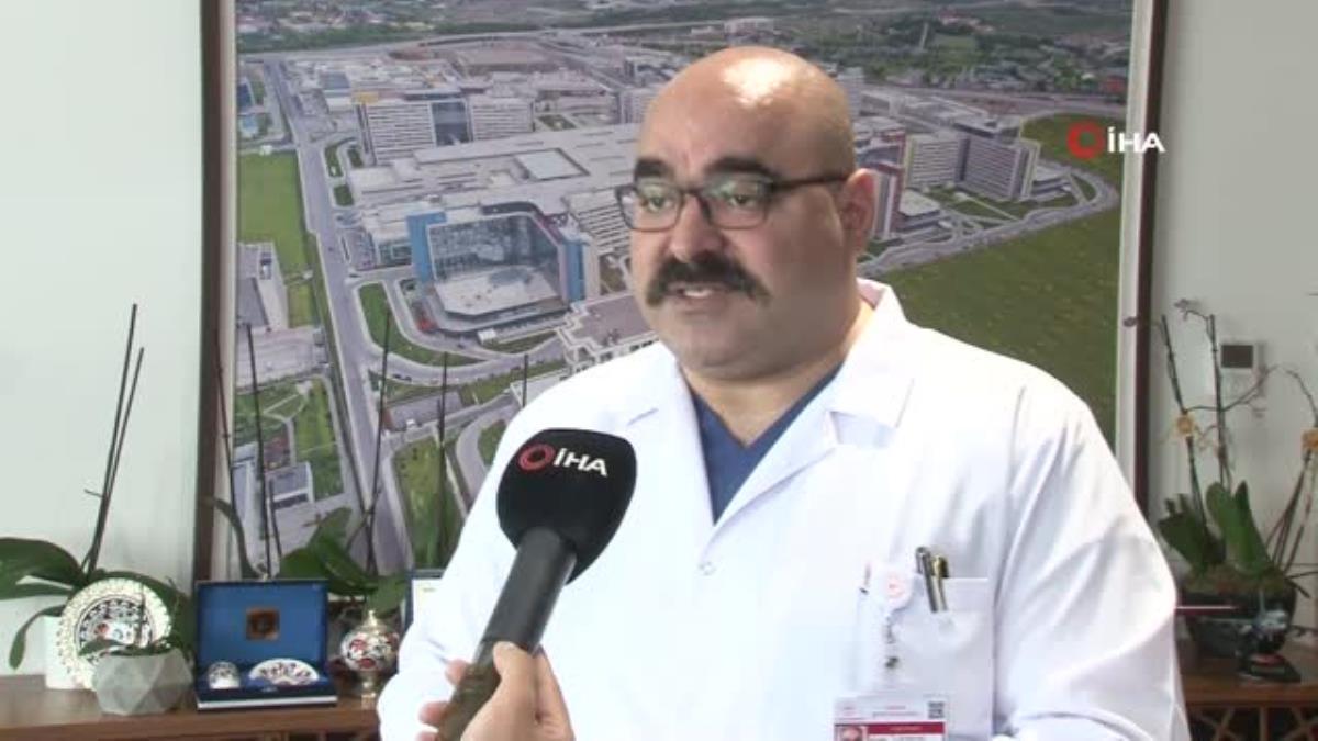 """Son dakika haberi: Ankara Şehir Hastanesi Koordinatör Başhekimi Op. Dr. Surel: """"Açtığımız kadar randevu oluşuyor, yüzde 100'e yakın aşılama gerçekleşiyor"""""""