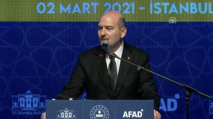 Son dakika haberler: İçişleri Bakanı Soylu'dan olası İstanbul depremine ilişkin flaş açıklama