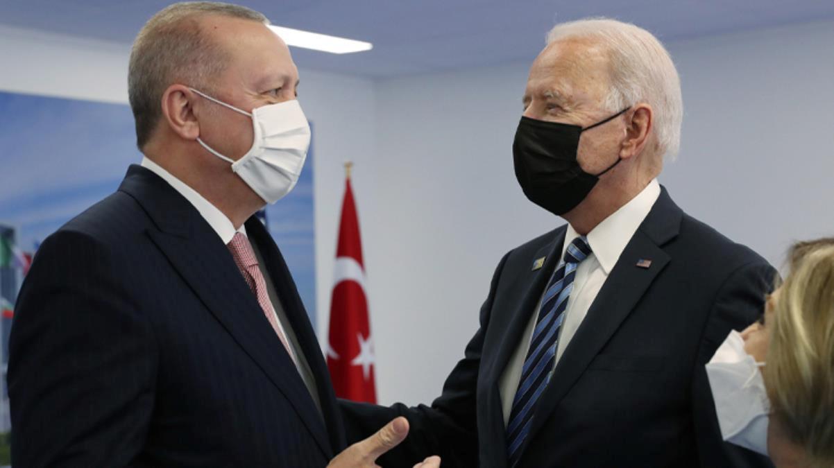 Son Dakika! NATO Zirvesi'nde Cumhurbaşkanı Erdoğan'la yaptığı toplantıyı değerlendiren Biden: İyi şeyler hissediyorum