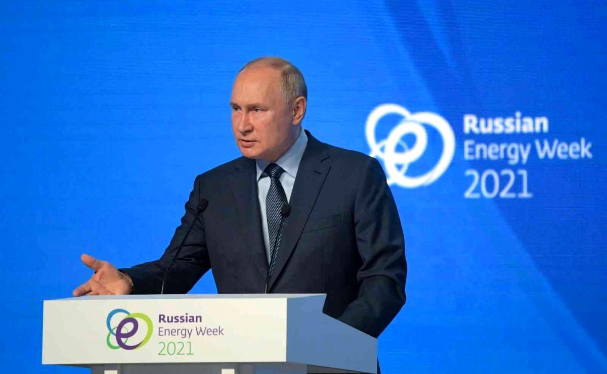 """Son dakika: Putin: """"Küresel düzeyde yaşanan enerji krizinde Rusya üzerine düşen sorumluluğu alıyor"""""""