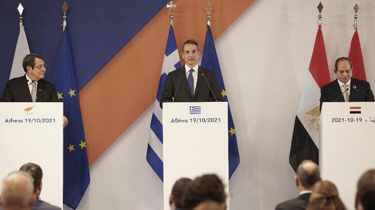 Son dakika: Türkiye'den Yunanistan, GKRY ve Mısır'a sert tepki