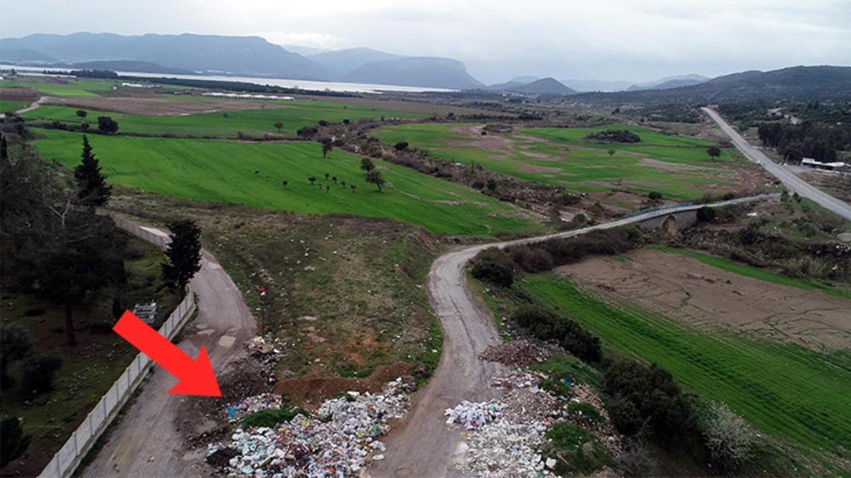 Tahtalı Barajı'nın çevresine kaçak dökülen moloz ve hafriyatlar halk sağlığını tehdit ediyor