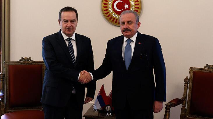 TBMM Başkanı Şentop: Sırbistan ile ticaret hacmi 2 milyar dolara yaklaştı