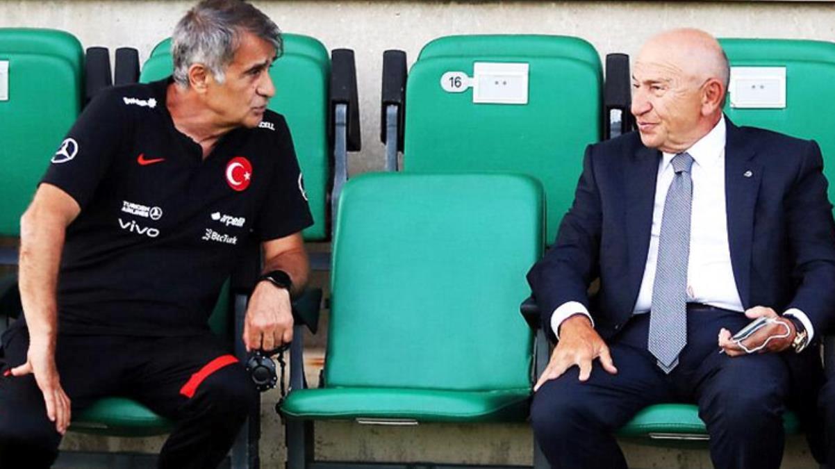TFF Başkanı Nihat Özdemir'den Şenol Güneş'e tam destek: Seni bırakmayız hocam