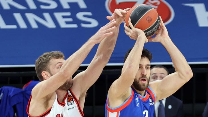 THY Avrupa Ligi'nde haftanın MVP'si Sasha Vezenkov