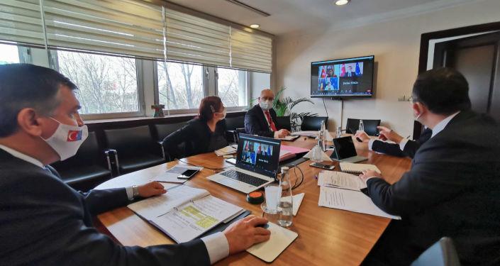 Türkiye ile Romanya arasında siyasi istişare toplantısı gerçekleşti