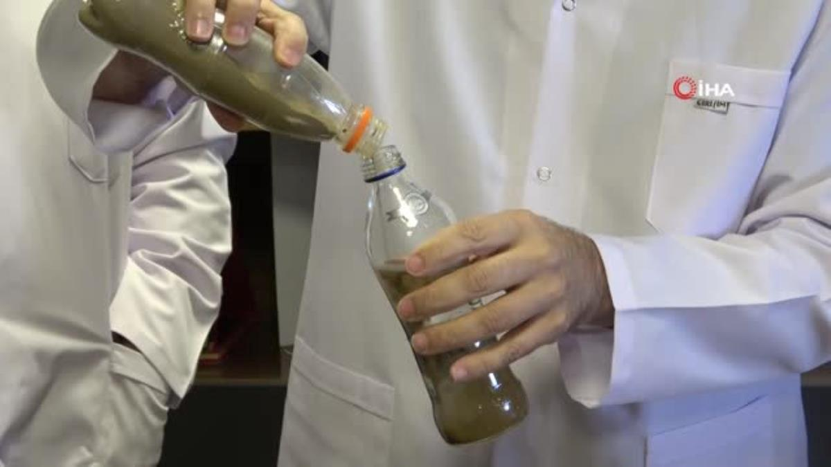 Van'da her türlü kirli suyu içilebilecek duruma getiren ilaç üretildi