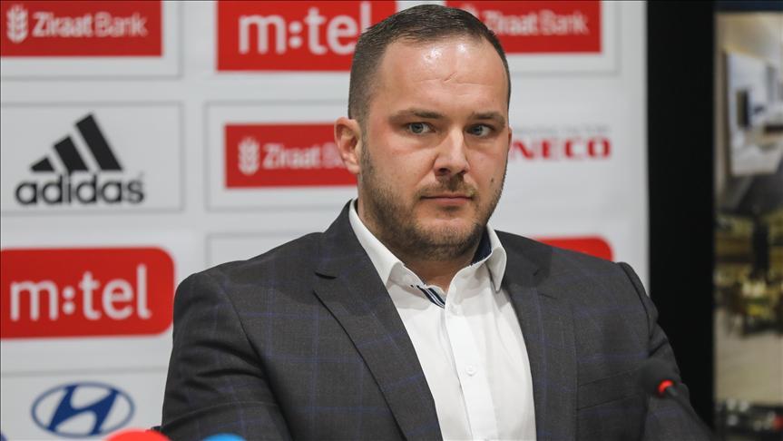 BosnaHersekFutbol Federasyonu Başkanlığına Vico Zeljkovic seçildi
