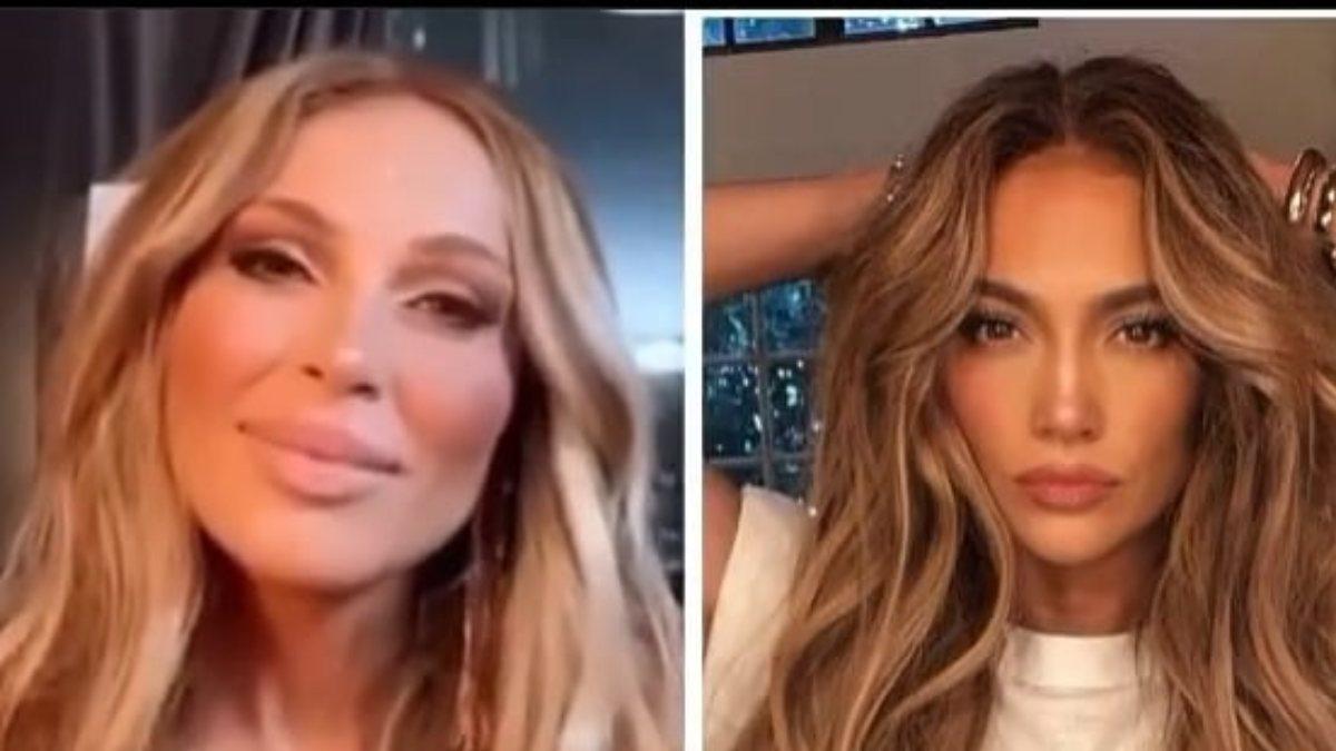 Ziynet Sali, Jennifer Lopez'e benzetildi