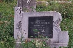 La tumba de una Montillo.