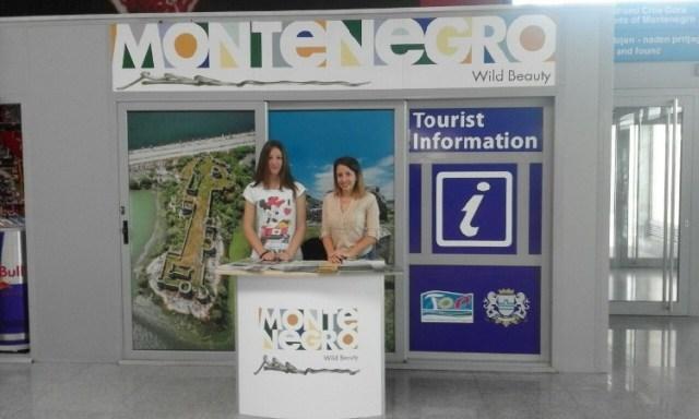 Туристический инфопункт в Подгорице. Фото: TO Podgorica