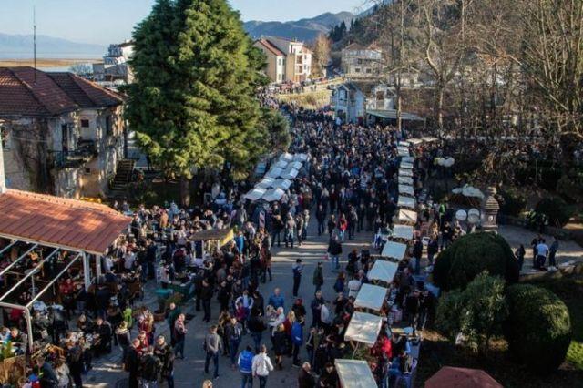 Фестиваль вина и уклейки в Вирпазаре. Фото: Cdm.me