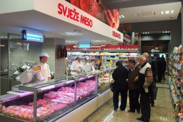 Супермаркет в Подгорице: Фото: Portalanalitika.me