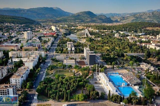 Подгорица. Фото: Montenegro.travel