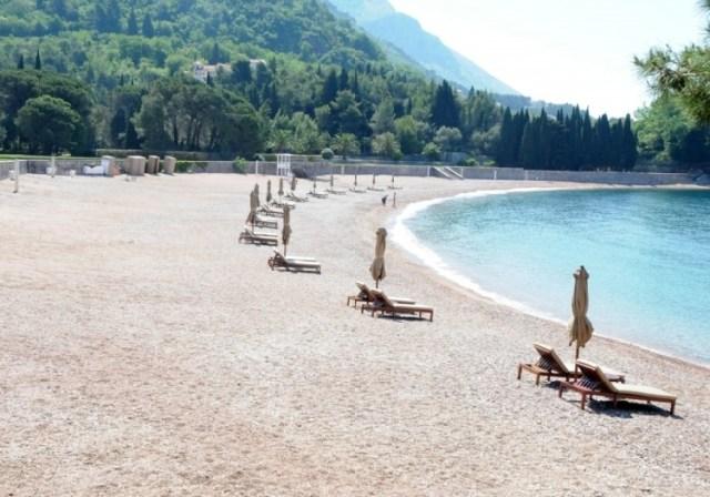 Большой Милочерский пляж. Фото: Vijest.me, Zoran Đurić