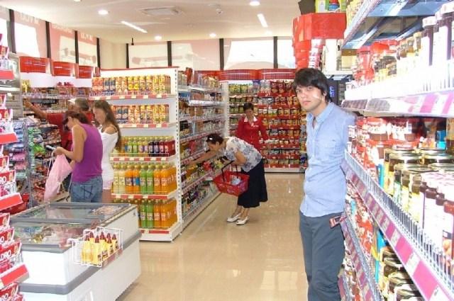Супермаркет в Жабляке. Фото: Vijesti.me, Obrad Pješivac