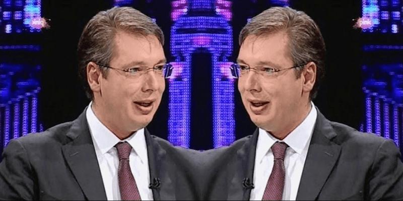 """Posle unutrašnjeg dijaloga Onog i Ovog Vučića dadoše oglas u novine: """"Izdajem Kosovo, veoma povoljno, može zamena za polovni ajfon, toster ili Evropsku uniju"""""""