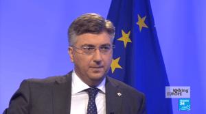 """Plenković: """"Nisu se Nemci i Francuzi pomirili preko noći, neće ni Srbi i Hrvati"""""""