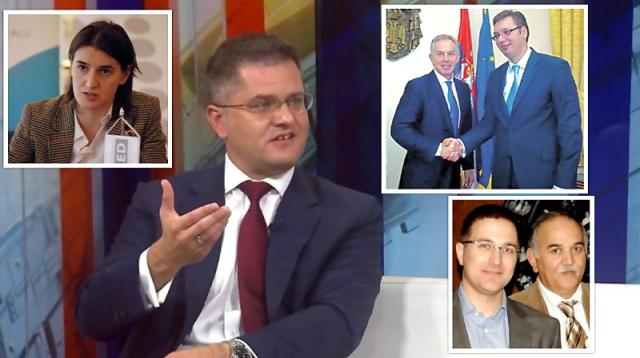 Jeremić: Premijerka agresivna, Toni Bler pregovara u ime Srbije a otac Nebojše Stefanovića prodaje oružje Arapima