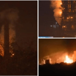 Ekološka katastrofa preti Srbiji? Naftna mrlja veličine 10 metara pluta Savom posle eksplozije u rafineriji Bosanski brod!