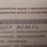 Izbori u BiH: Glasali i za Ronalda, Mesija, Angelu Merkel…