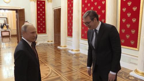 Vučić: Naišao sam na razumevanje i prijateljski stav Putina