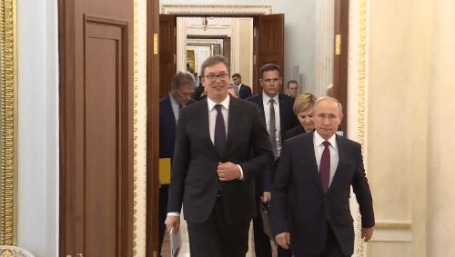 Vučić: Neću protiv Angele Merkel, rekao sam i Putinu