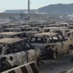 Stotine novih Maseratija i FIAT-a iz Kragujevca izgorelo u italijanskoj luci (VIDEO)