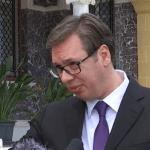 Vučić: Haradinaja sam video samo kad sam posećivao Šešelja u Hagu