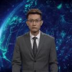Virtuelni TV voditelj čita vesti u Kini