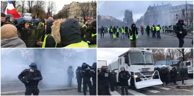 Pariz na nogama: Osamdeset hiljada ljudi traži pravdu (VIDEO)