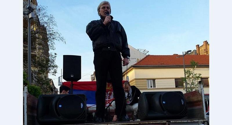 Priveden bivši dimplomata Đuro Trkulja, supruga tvrdi - zbog tvita o Vučiću