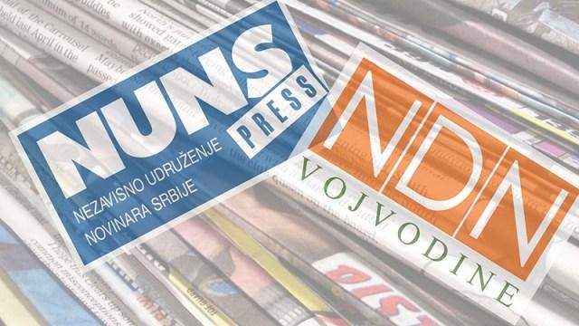 NUNS, NDNV i UGS: Suprotstaviti se daljem unižavanju profesije