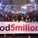 """Najavljen protest """"Jedan od pet miliona"""" i u Kosovskoj Mitrovici"""
