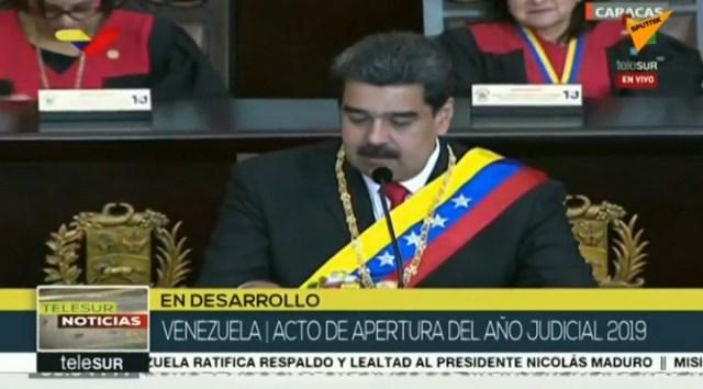Maduro se obraća naciji (VIDEO)