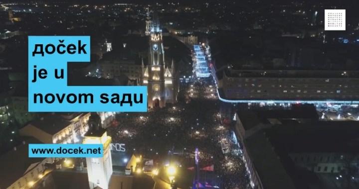 Doček Pravoslavne Nove godine u Novom Sadu na 40 lokacija