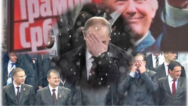 """DANKE PUTIN - Niti je Rusija """"srpska"""" država, niti je Putin """"Srbin"""", kao što se, uostalom, kao """"Srbin"""", uprkos sloganu, nije pokazao ni Trump"""
