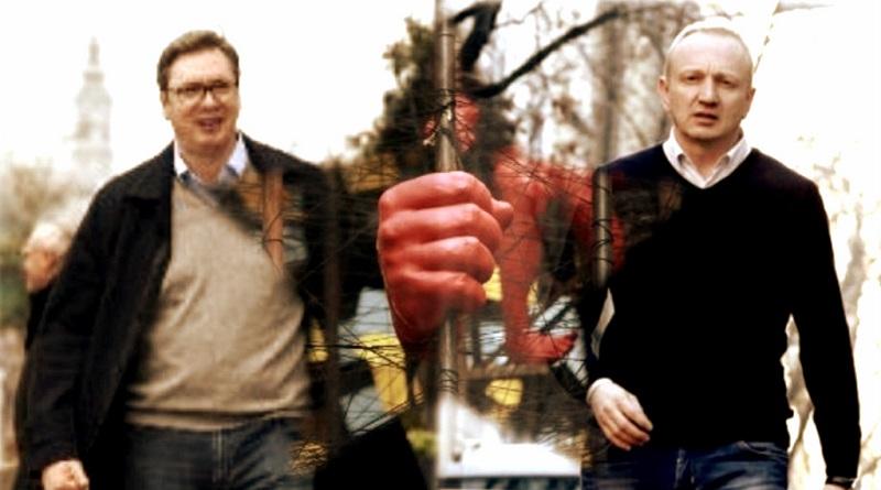 Danko B. Marin: Svetlost je u pobunjenoj Srbiji i njenoj mladosti koja nalazi svoju borbu i bori se za mesto u SVOJOJ, ne Vučićevoj, BUDUĆNOSTI!