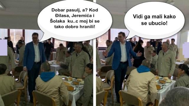 Zašto Vučić misli da su Srbi debeli i da nisu gladni?