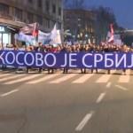 Hiljade ljudi na protestu: Aleksandre Vučiću, ti si veleizdajnik!