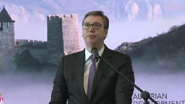 Vučić u Golupcu: Da vas prosto uhvati strah od toga ko sve misli da može da vodi zemlju