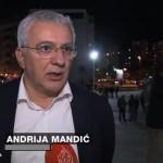 Andrija Mandić: Ako lideri Demokratskog fronta budu uhapšeni leteće glave