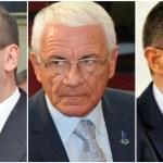 Dragan Jovanović, Verko Stevanović i Branislav Jovanović na zajedničkoj izbornoj listi