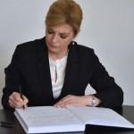 Predsednica Hrvatske odala počast žrtvama Jasenovca