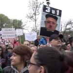 Završen protest: Mi smo narod Tesle, Pupina, Andrića – zaslužili smo bolje od Vučića, Vulina, Brnabić